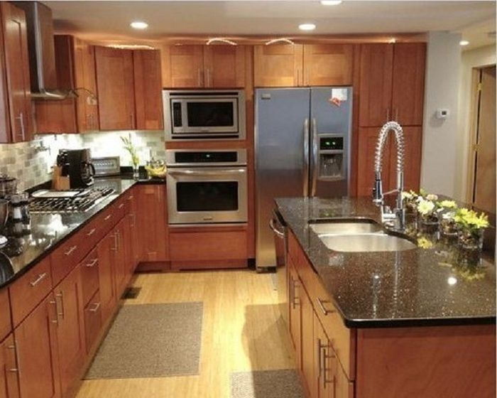 RTA #Kitchen #Cabinets  Nice Elongated Design Of Rta Kitchen Cabinets