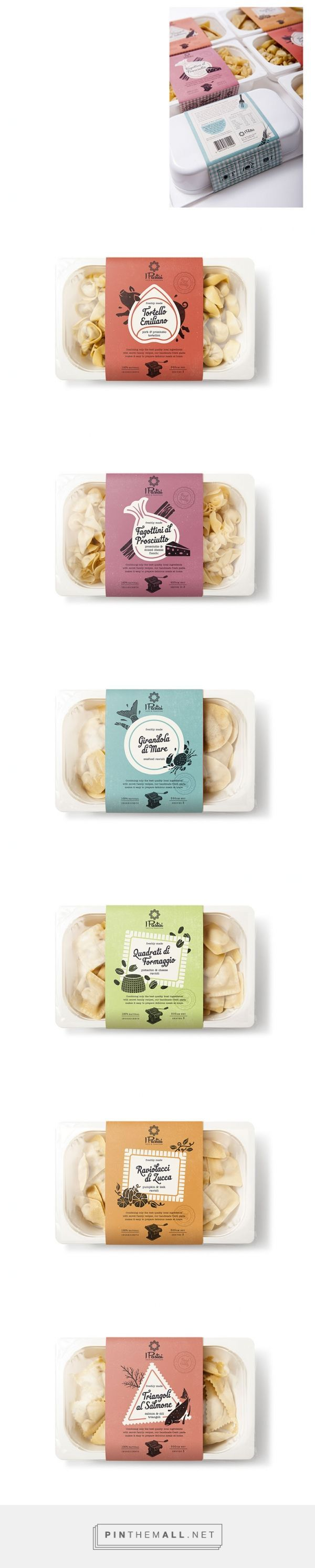 Pasta packaging design, food packaging   Dessein - created via