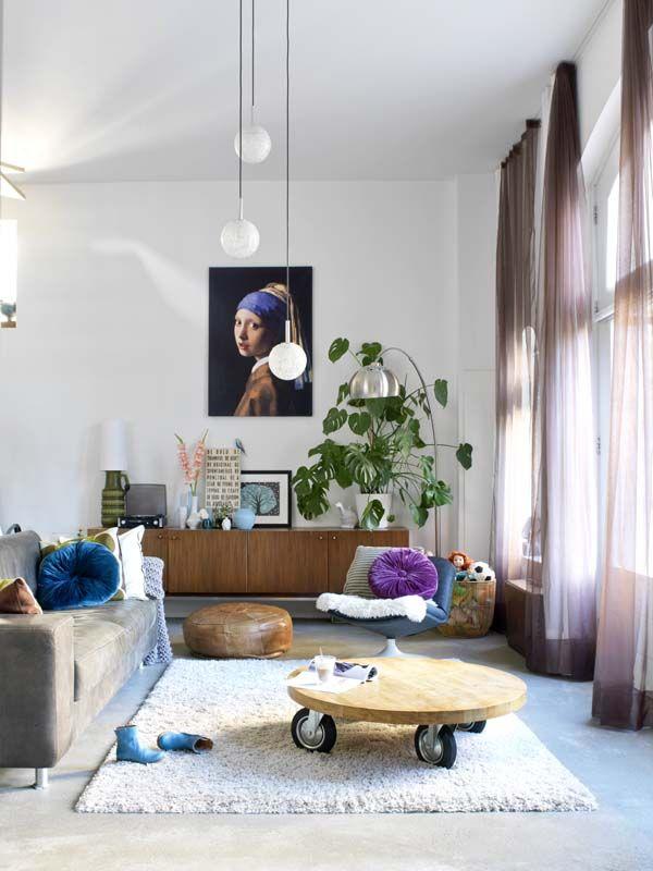 KARWEI | In elke ruimte van het huis gaat modern design hand in hand met vintage vondsten #binnenkijker #ideevankarwei #karwei