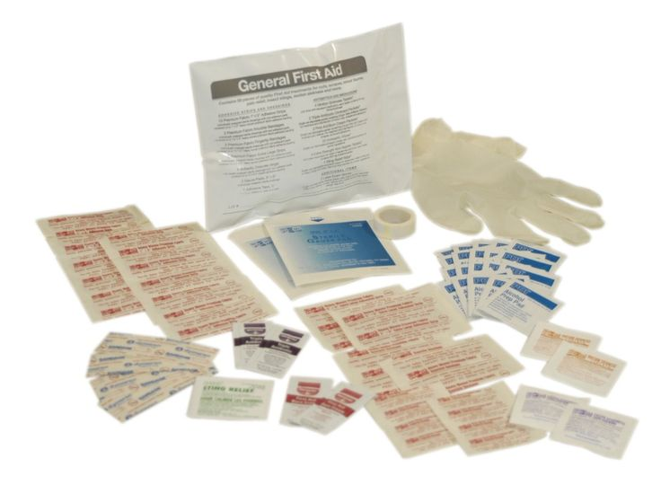 First Aid Only 71-020 First Aid Triage Pack - General First Aid