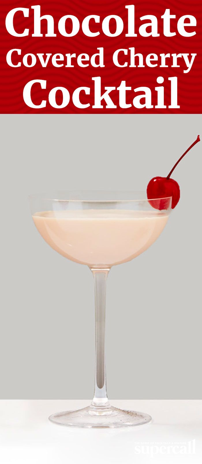 If you're a fan of indulgent, syrupy-sweet chocolate-dipped maraschino cherries, you're going to love this liquid take on the classic dessert. Two types of chocolate liqueur join forces with cherry vodka and half and half to give the drink a creamy finish.