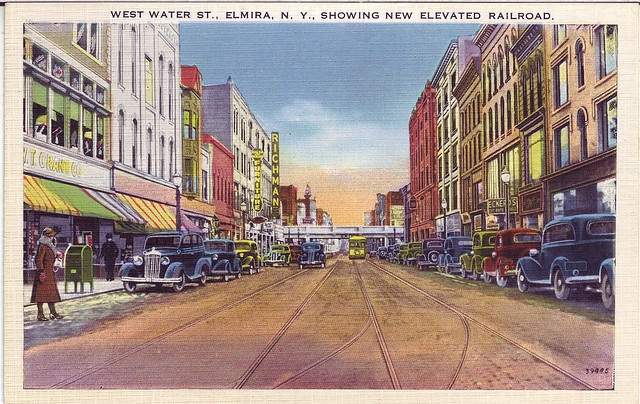 W Water New Elevated RR by iElmira, via Flickr
