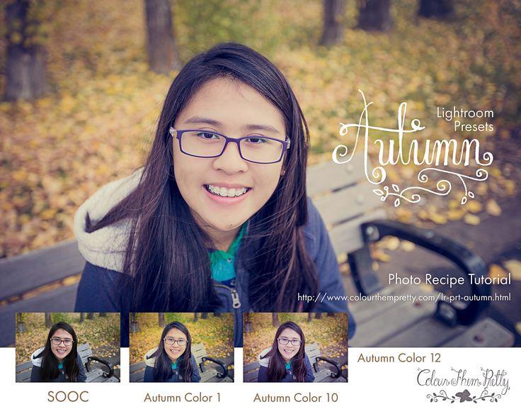 Lightroom Presets: Autumn Photo Recipe Tutorial