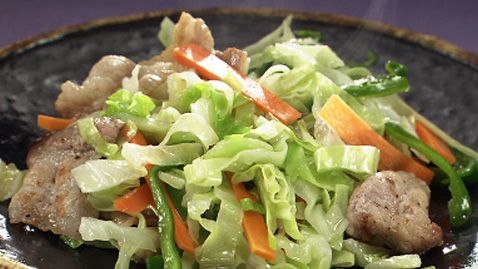 ガッテン流野菜炒め