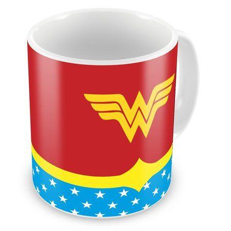 Caneca Personalizada DC Comics Mulher Maravilha Logo