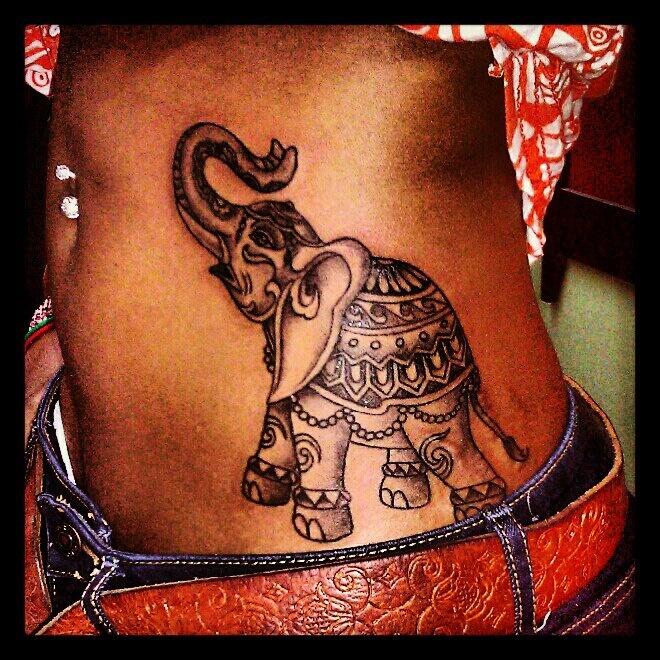 my elephant tattoo<3
