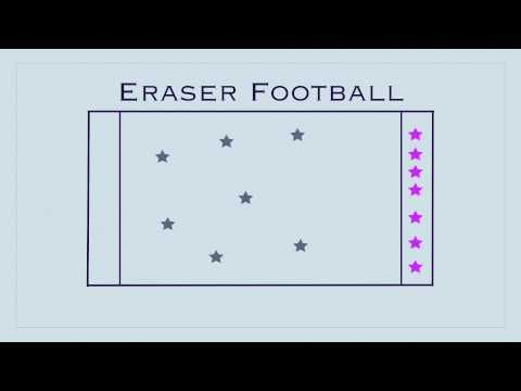 P.E. Games - Eraser Football--this sounds fun! This is going on next weeks list!  This site is awesome.