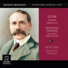 Elgar+Enigma+Variations+2LP+Vinil+200+Gramas+45rpm+Half-Speed+Reference+Recordings+Mastercuts+QRP+USA+-+Vinyl+Gourmet