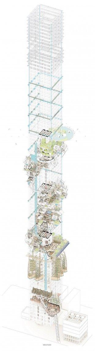 000 political city icon - 432 village by XON Studio 432 drawing 5 copy