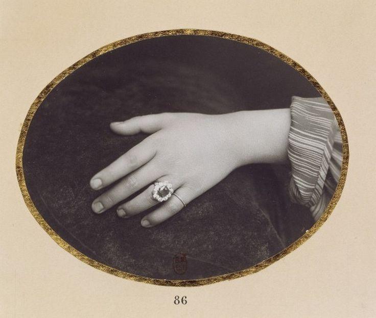 Hand. unknown artist, 1860s.