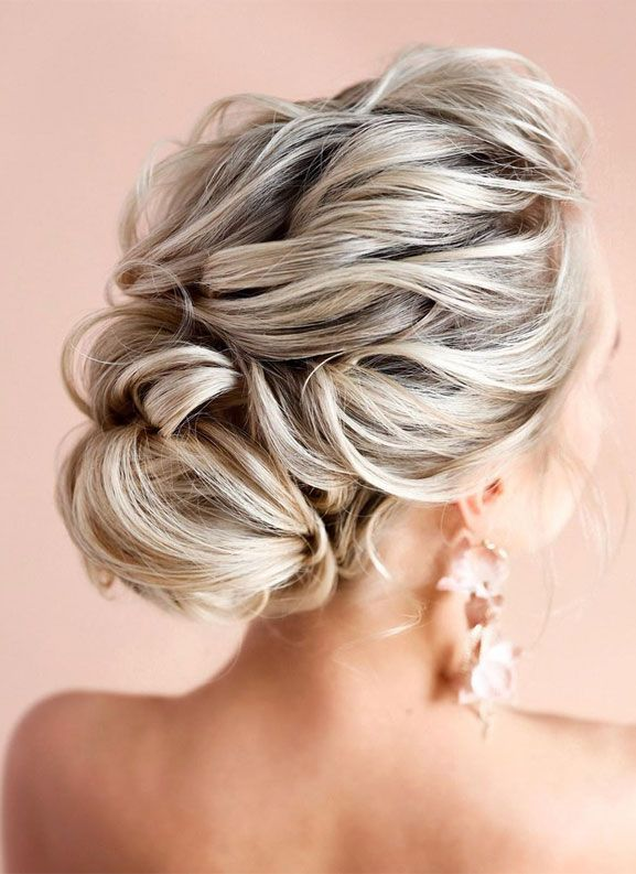 Elegant Prom Updo Wedding Hairstyles For Medium Length Hair Medium Length Hair Styles Easy Hairstyles For Long Hair Wedding Hairstyles