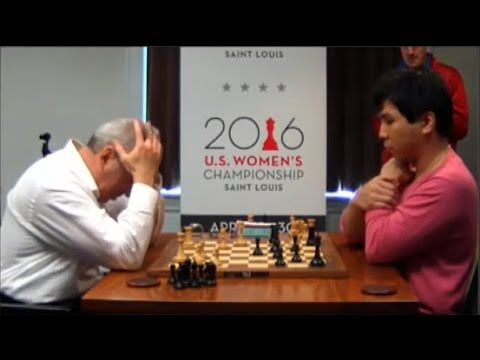 Unbelievable Blunder!!! Garry Kasparov Loses To Wesley So In Winning Pos...