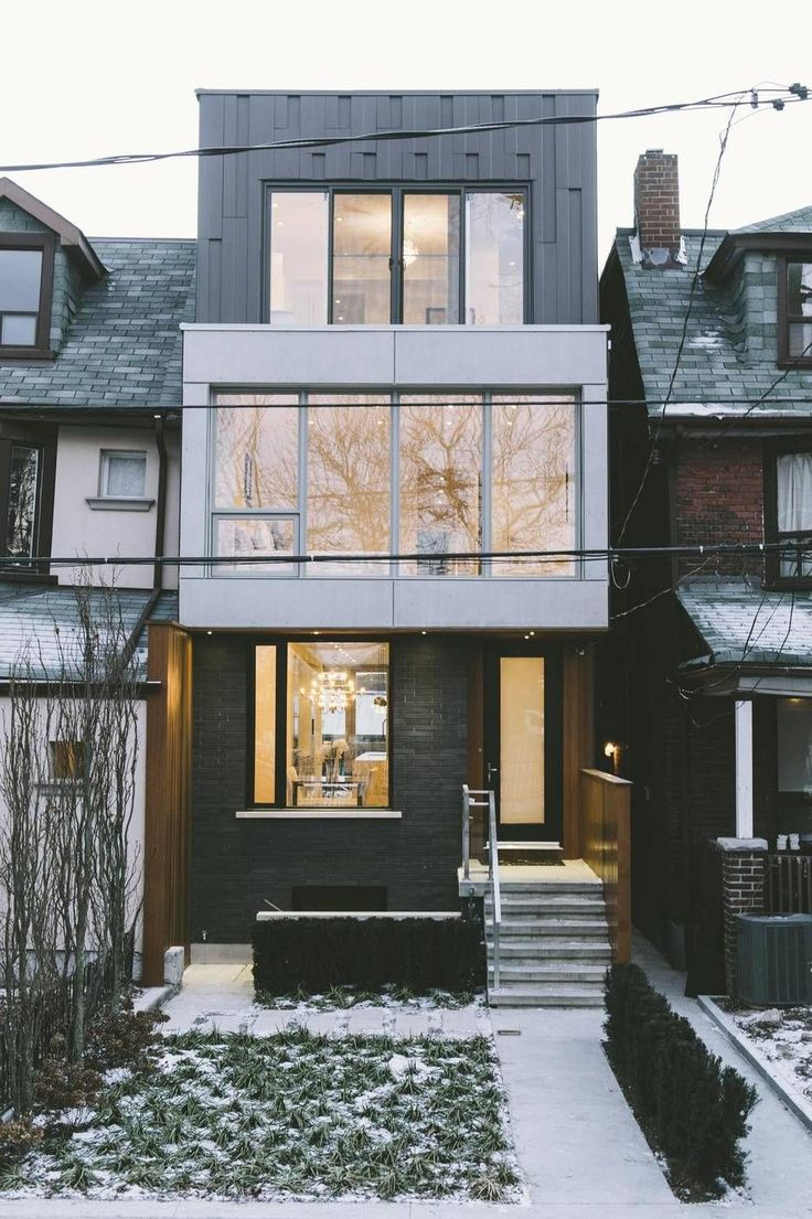 Here's a new take on the typical Toronto house - The Globe and Mail