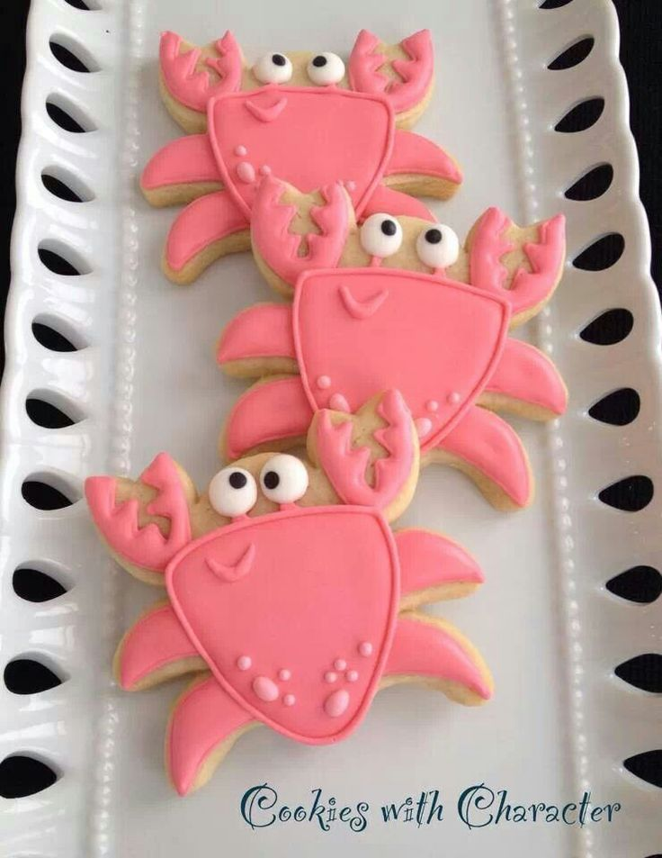 Crab cookies                                                                                                                                                                                 Mais