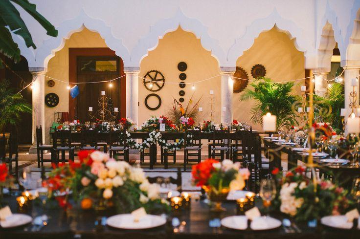 Ellie & Sean | Mexican Wedding, Riviera Maya, Hacienda Wedding, Beach Wedding, Destination Wedding, Hacienda del Mar, Hacienda Corazon, Puerto Aventuras, Vintage Wedding, Mexico