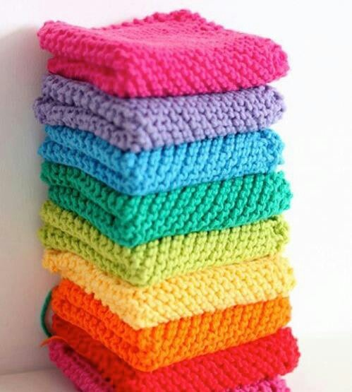 Farmhouse Kitchen Knitted Dishcloth: Pin By Teresa Lindsey On Pretty And Cute Things In Numbers