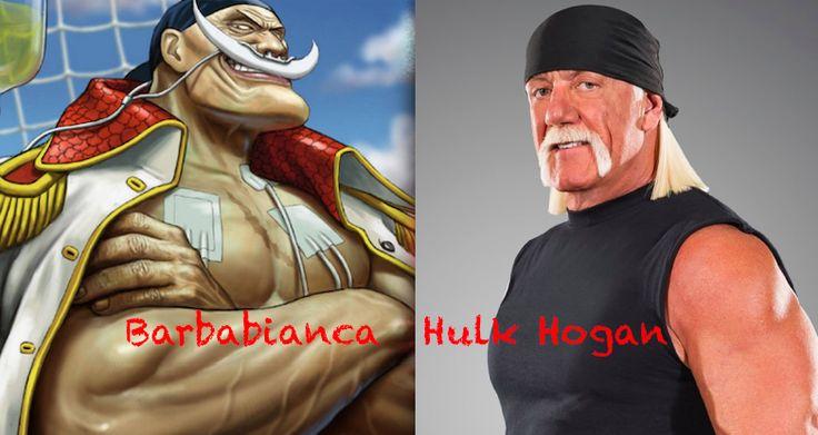 Whitebeard as Hulk Hogan - One Piece