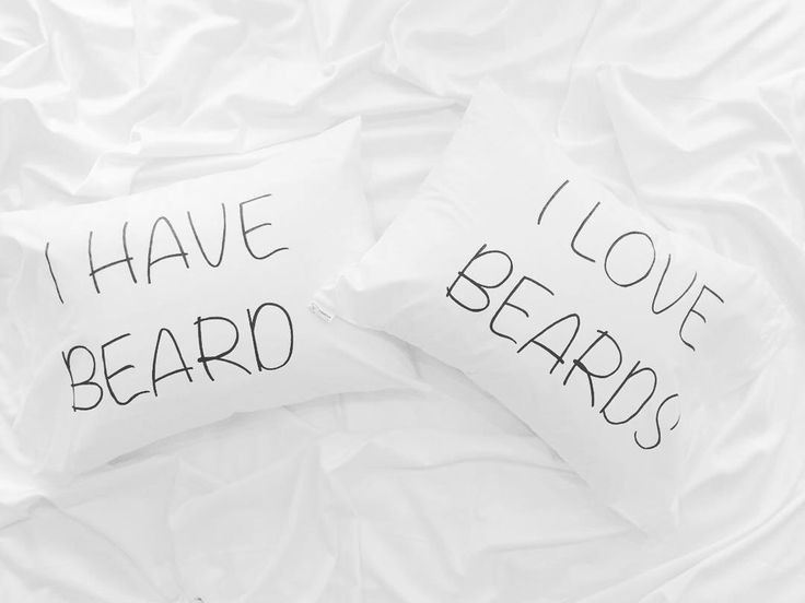 Couple Pillowcases for beard lovers his and hers pillows Mr and Mrs, I love beards, Couple pillows, beard pillow, gift idea, gif for him her by CreativePillowLV on Etsy https://www.etsy.com/listing/256018267/couple-pillowcases-for-beard-lovers-his