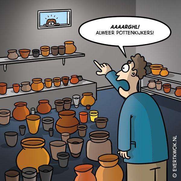 Pottenkijkers -Evert Kwok