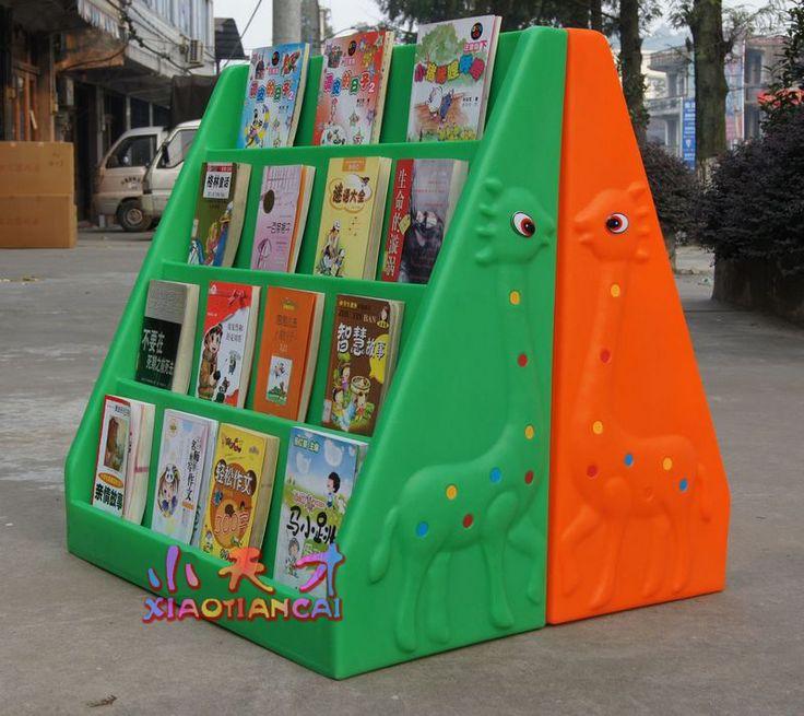 Детский сад книжная полка книжный шкаф ребенок библиотека кабинет мультфильм книжный шкаф купить на AliExpress
