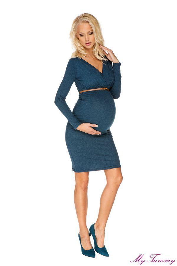 Sukienka ciążowa i do karmia Carla