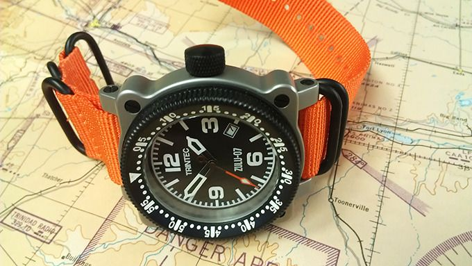 ZULU-07 PRO - Aircraft Inspired Automatic Wrist Watches! Aggressively Styled Automatic Wrist Watches for Men. Watches Inspired by Vintage Aircraft Clocks. Watches are Water Resistant to 200m