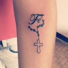 #tattoo #tatuagem #tattoonepre #nepomuceno #fe #terço (em Merlo's Tattoo)