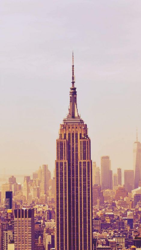 Empire State Building New York Iphone Wallpaper New York Iphone Wallpaper City Wallpaper Empire State Building