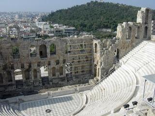 El Teatro en Grecia   LA SABIDURIA DE GRECIA