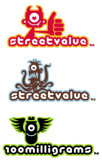 Toy company logos
