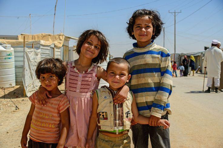 Syrian refugees in Jordan www.narenjtree.com