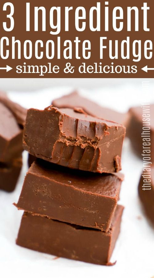 Ingredients 3 Cups Semisweet Chocolate Chips 14 Oz Sweetened Condensed Milk 1 4 Cup Butter Inst Easy Chocolate Fudge Fudge Recipes Chocolate Fudge Recipes Easy