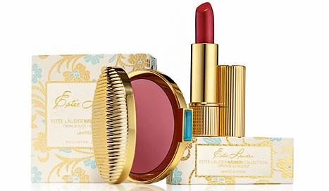 "Estee Lauder's ""Mad Men"" inspired make-up line comes out on 3/1."
