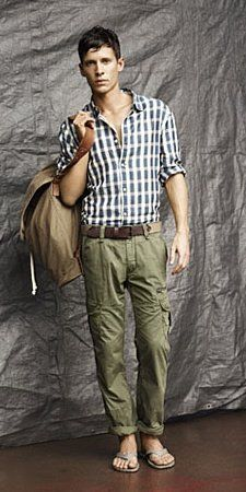 Ok maybe mens summer fashion is survivable.   Country Road Clothes - Men's Summer Fashion 2011