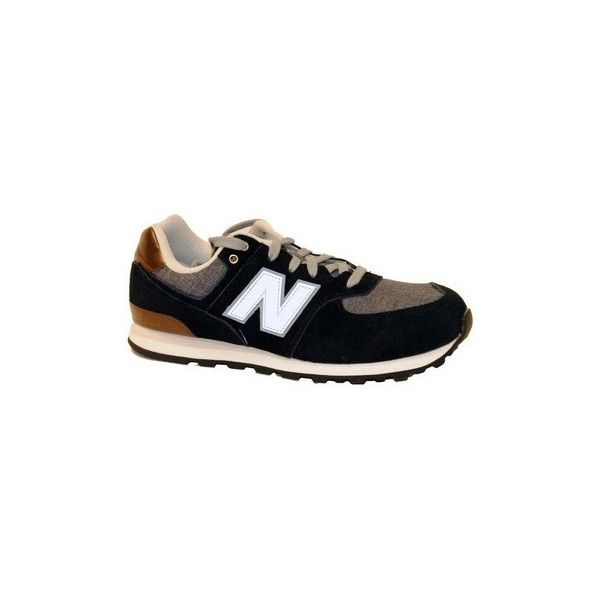 New Balance KL574 Trainers (1 325 UAH) ❤ liked on Polyvore featuring shoes, sneakers, black, trainers, women, new balance trainers, kohl shoes, new balance footwear, new balance sneakers and black trainers