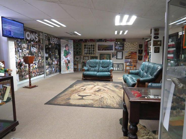Ellispark Rugby museum