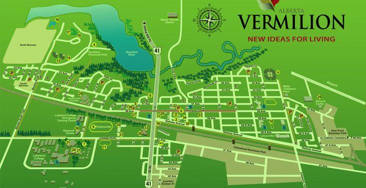 Vermilion street map 2016