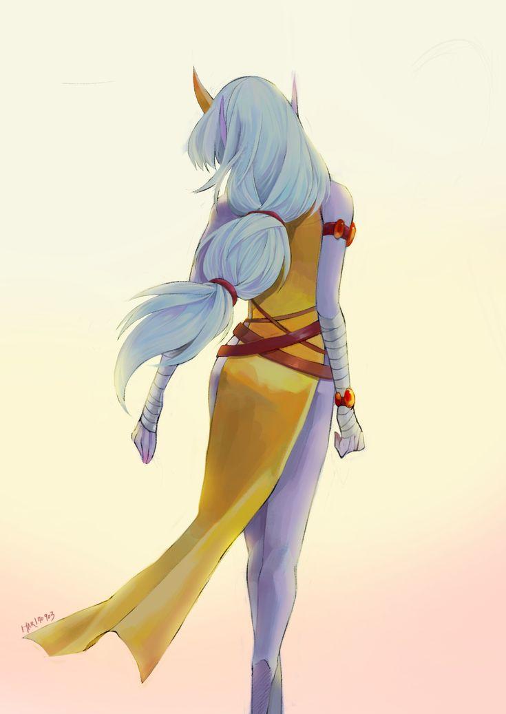 [Fanart] League of Legends Soraka by Haaarpuia