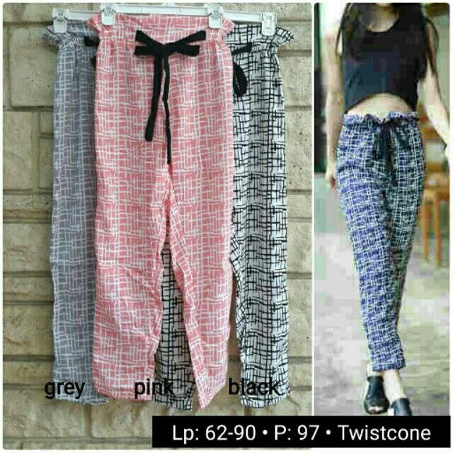 Saya menjual Pattern Pants BN1207 seharga Rp81.000. Dapatkan produk ini hanya di Shopee! {{product_link}} #ShopeeID