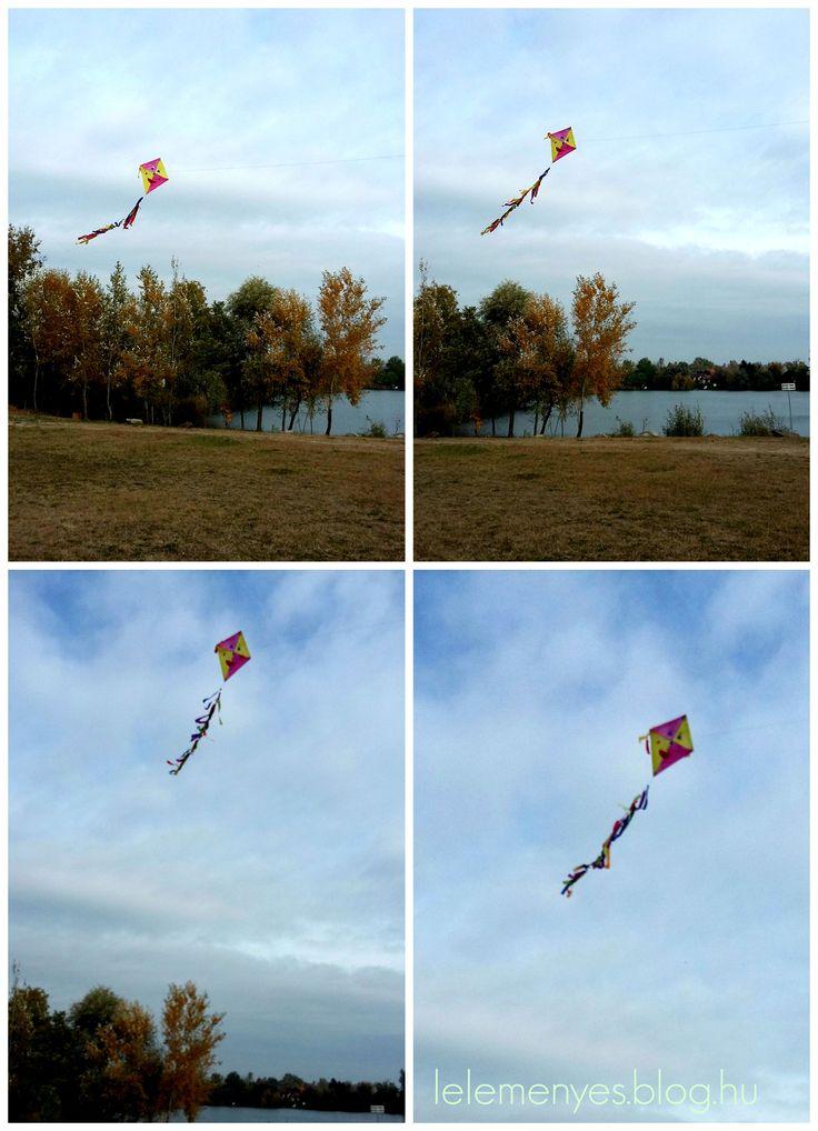 Papírsárkány készítés lépésről lépésre.  How to make a kite.