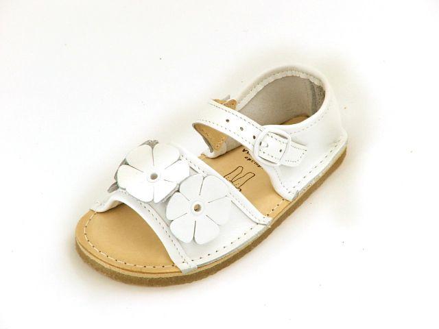 Bear Feet White Flower Power Sandals $79.50 http://www.meandmyfeet.com/product/BFWHSSFP #Bear #Feet #White #Flower #Sandals #Girls #Child #Kids #Shoes