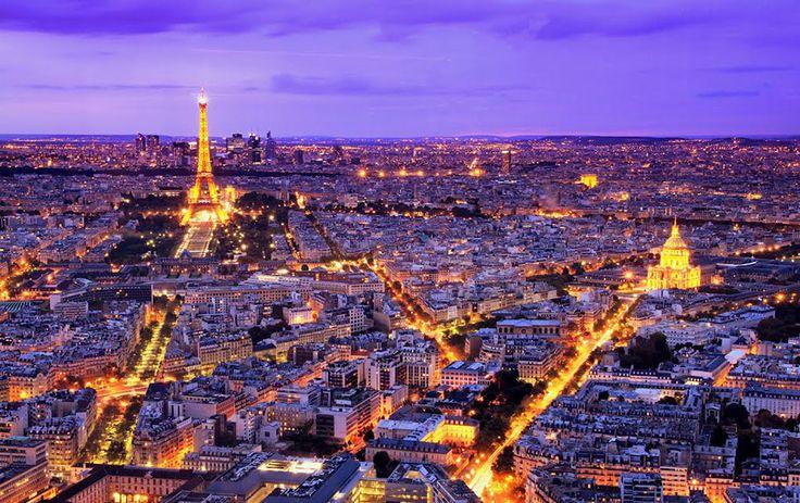 Paris, vista da Torre Montparnasse