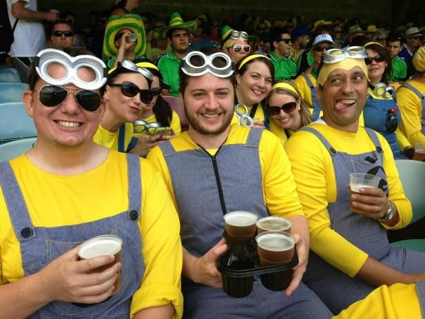 Minions from Despicable Me Video at Cricket! | The Travel Tart Blog