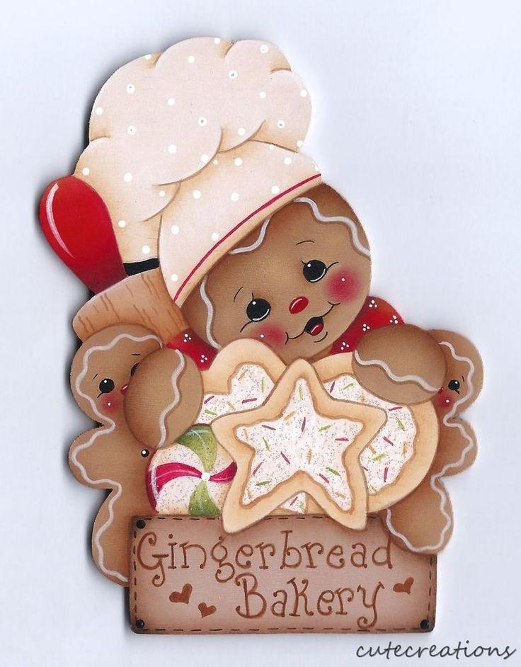HP+GINGERBREAD+Bakery+FRIDGE+MAGNET+