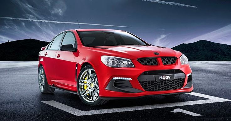Holden Rolls Out Three 456 HP HSV Specials #Australia #Galleries
