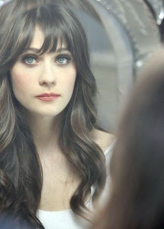 Zooey Deschanel. Yes, I adored her before the New Girl...all those bandwagon fans can suck it!