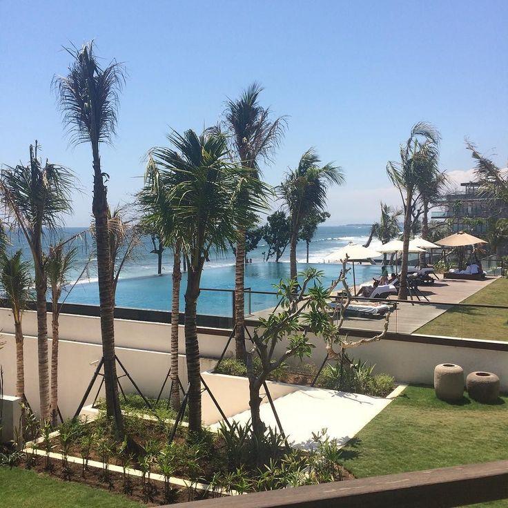 The spectacular view from Room 128 at @alilaseminyak in Seminyak Bali. #roomcritic #Alila #alilatime #alilaseminyak #alilaseminyak128