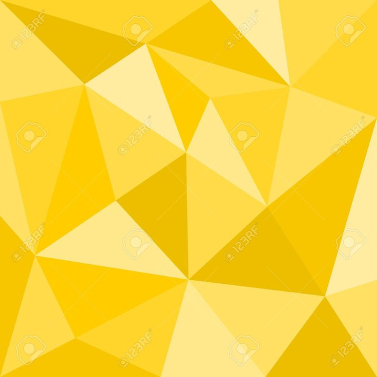 geometric yellow background illustration - photo #11