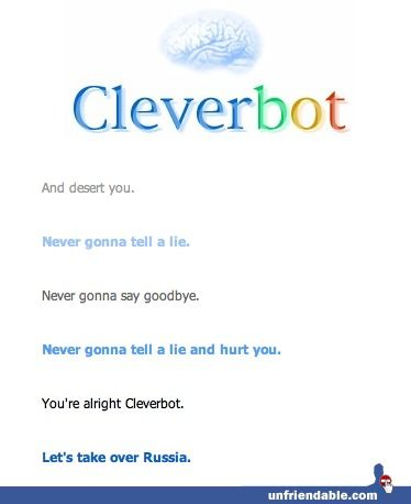 The 15 Best Cleverbot Conversations of All Time // Woah!  wat?