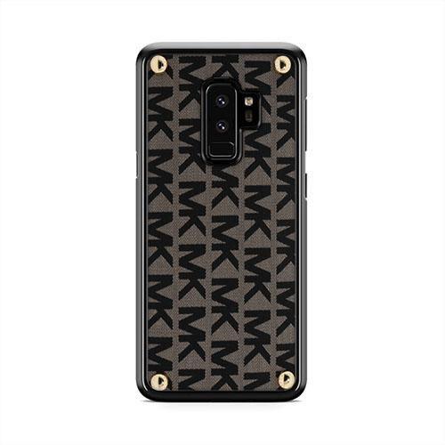 size 40 b8f56 0744e Michael Kors Monogram Samsung Galaxy S9 Plus Case | Caserisa ...